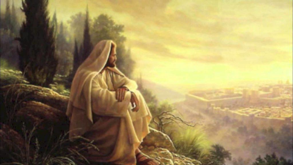 Jésus devant Jérusalem